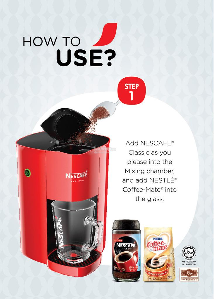 Nescafe Coffee Maker Reviews : Nescafe Red Mug Coffee Maker (end 1/29/2017 10:15 AM - MYT )