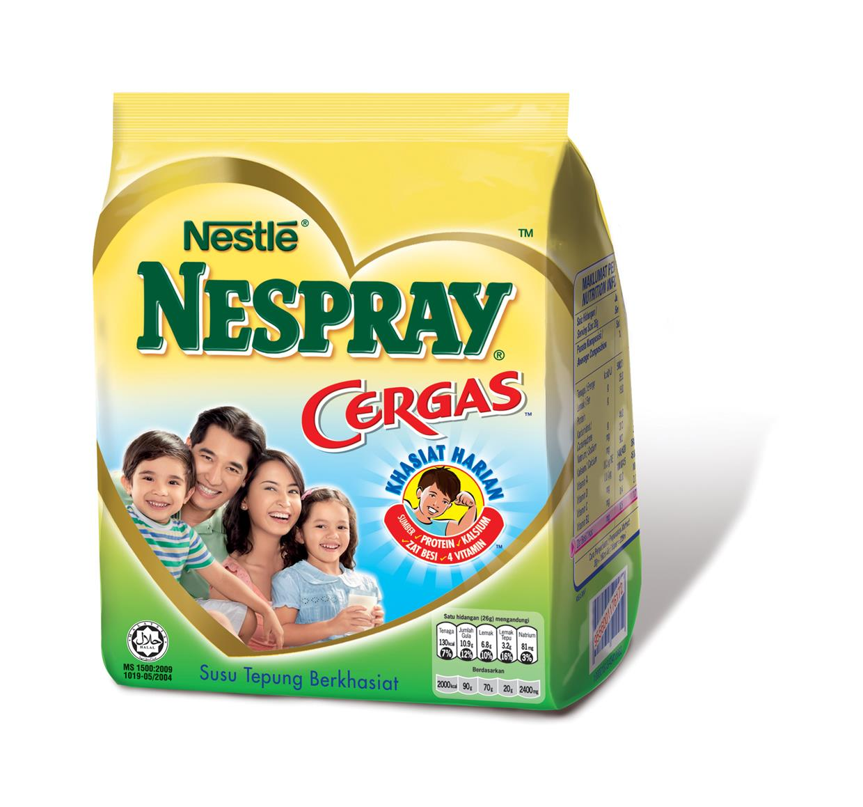 NESPRAY Cergas Milk Powder (300g/550g/1.6kg)