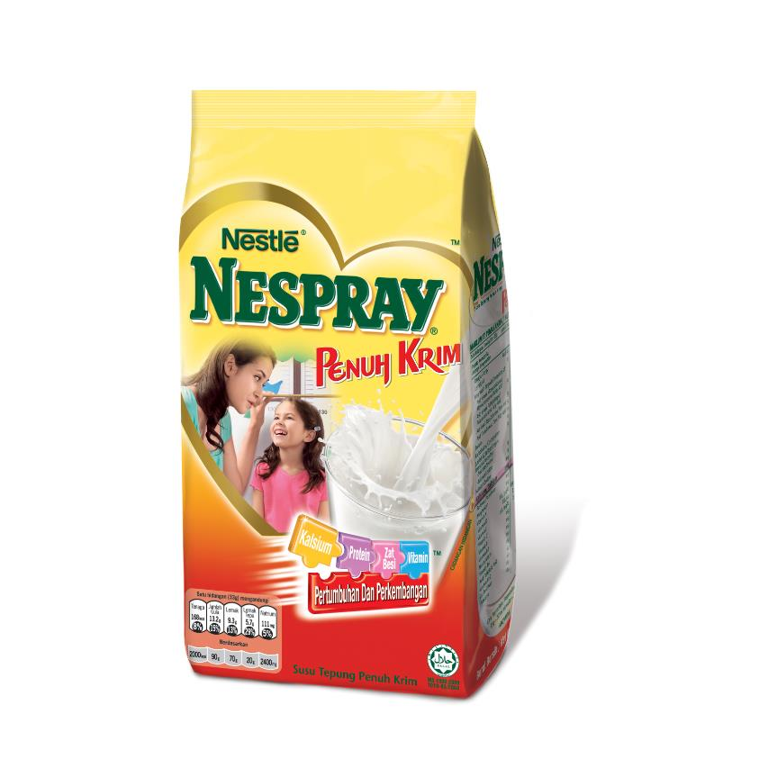 NESPRAY Full Cream Milk Powder (550g/1.6kg)