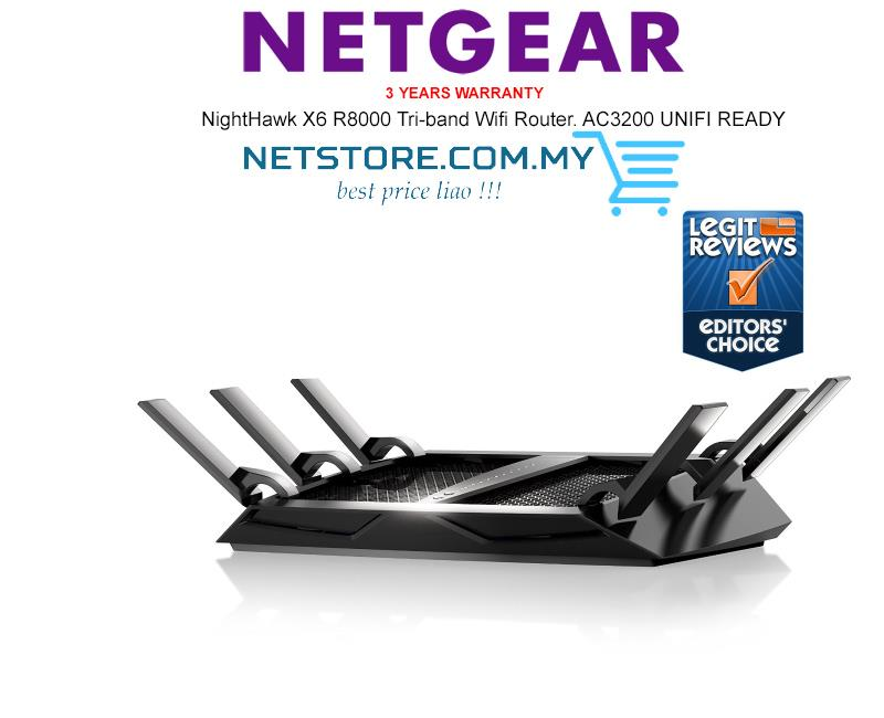 Nighthawk X4 | Dual Band WiFi Router | AC2350 (R7500) | NETGEAR