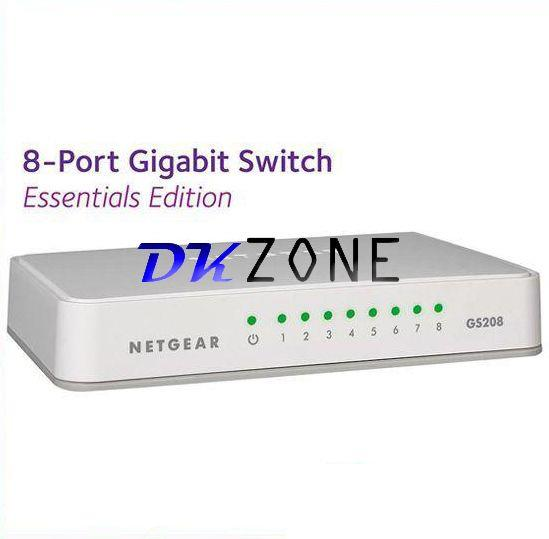 NETGEAR ProSAFE GS208 8-Port Gigabit Switch (GS208-100UKS)