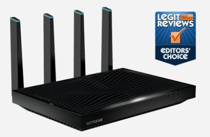 NETGEAR ROUTER GIGABIT WIFI N1000 TRI-BAND AC5300 NIGHTHAWK X8 R8500