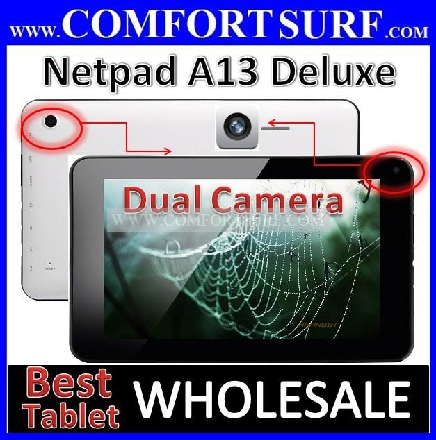 Netpad A13 Deluxe Android 4.0.4 Tablet PC inouva Nautica Tornados Q88