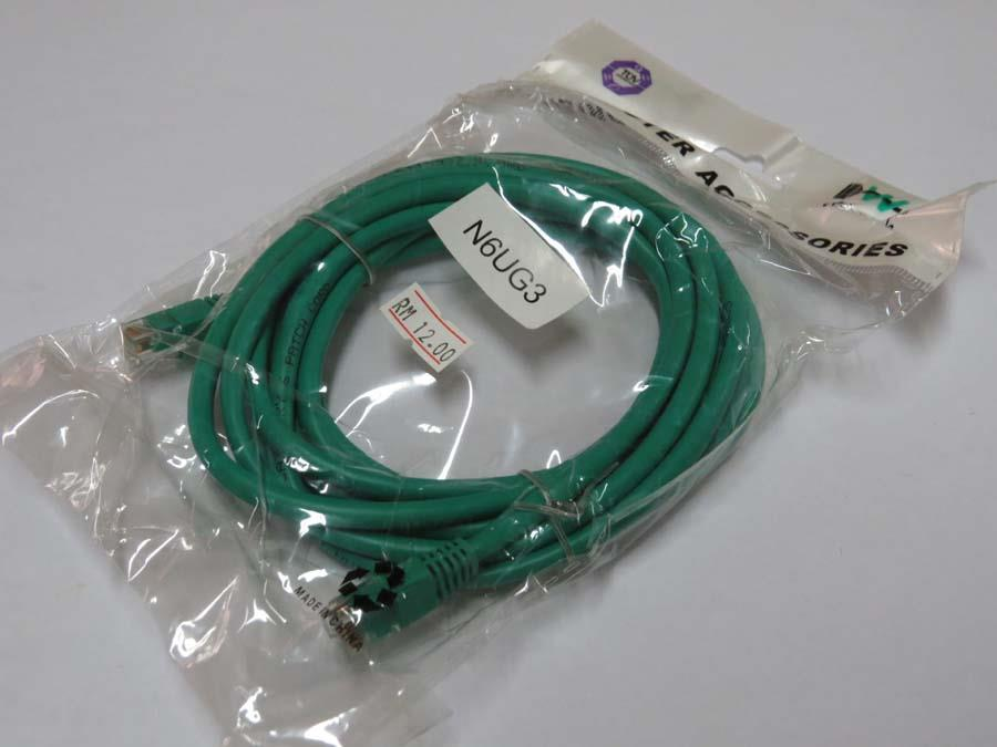 Network Cable UTP Cat 6 (3 Metre / Meter)