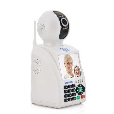 "Network Phone IP Camera ""Skypecam"" - Cloud Communication, 3.5 Inch Dis"