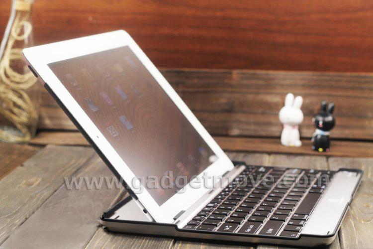 New iPad 2 3 4 Wireless Aluminium Bluetooth Keyboard