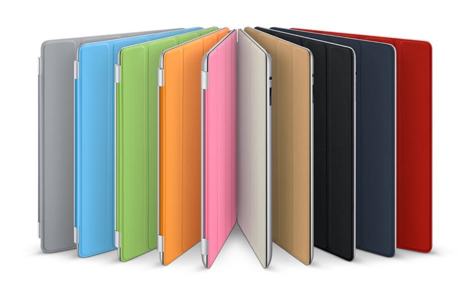 New iPad 3 iPad 2 Magnetic Smart Cover Case + Back Case (iPad 3 Only) ..
