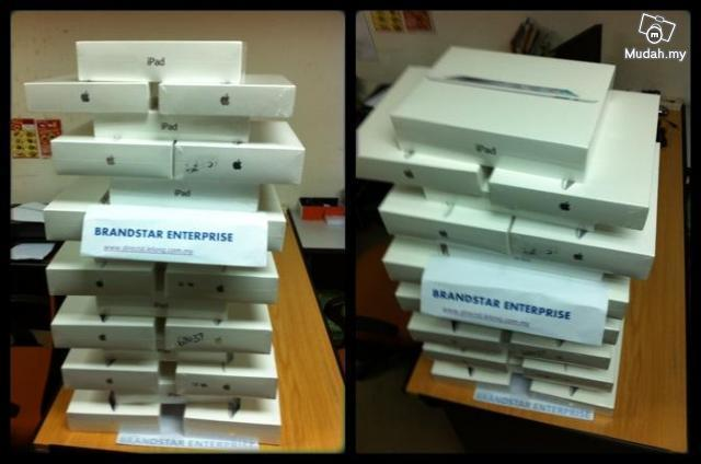 The New  Ipad 3 wifi or 4g & wifi All Ready Stock- FOC MP3 EARPLUG..