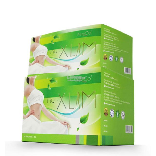 Newco Nu Xlim Tea Twin Packs(herbal detoxing & slim tea)瘦ไ..