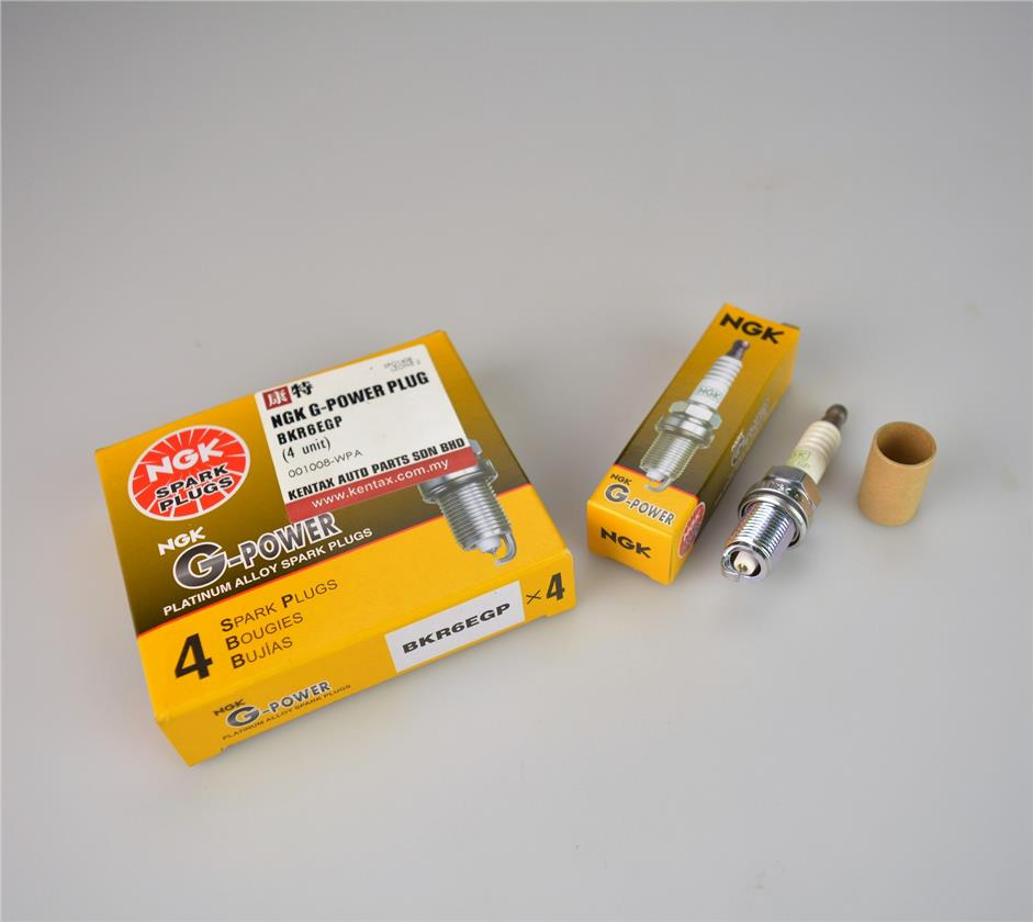 NGK G-POWER PLATINUM PERFORMANCE SPARK PLUG - BKR6EGP (per set)