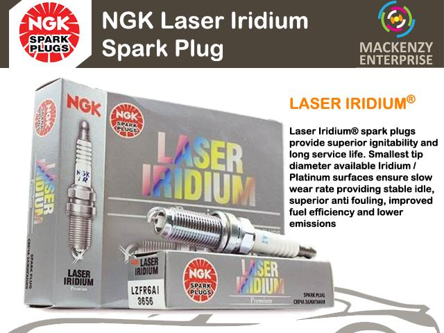 NGK Laser Iridium Spark Plug for Toyota Harrier 3.0 V6