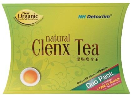 NH DETOXLIM NATURAL CLENX TEA 40's+10's