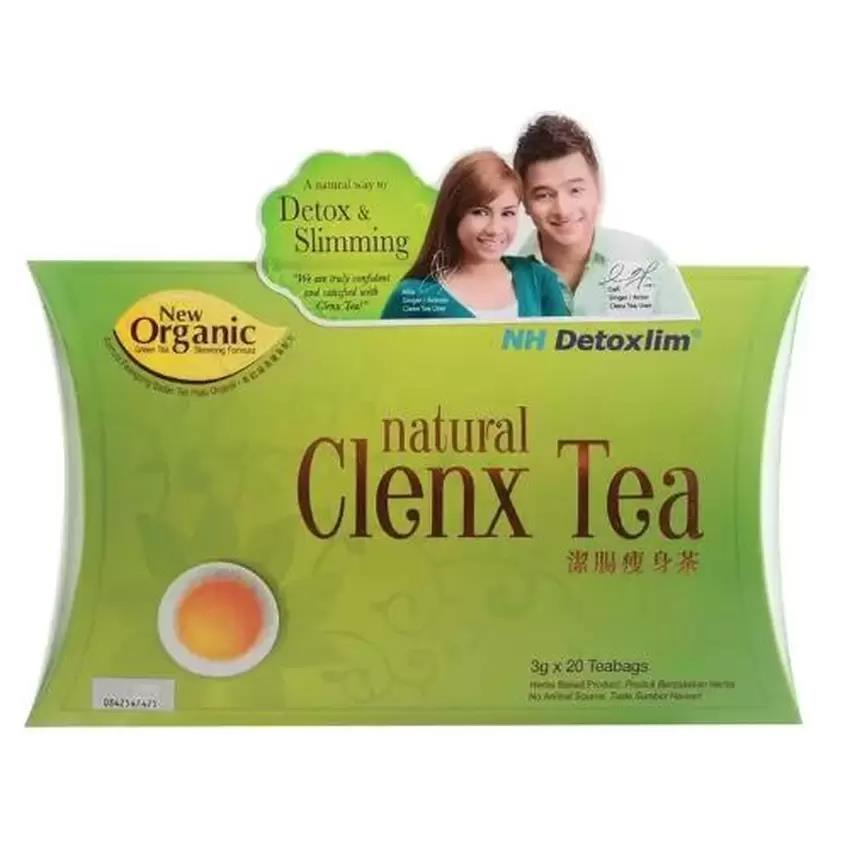 NH Detoxlim Natural Clenx Tea (Detox slimming) 3 g x 10 teabags WITH E