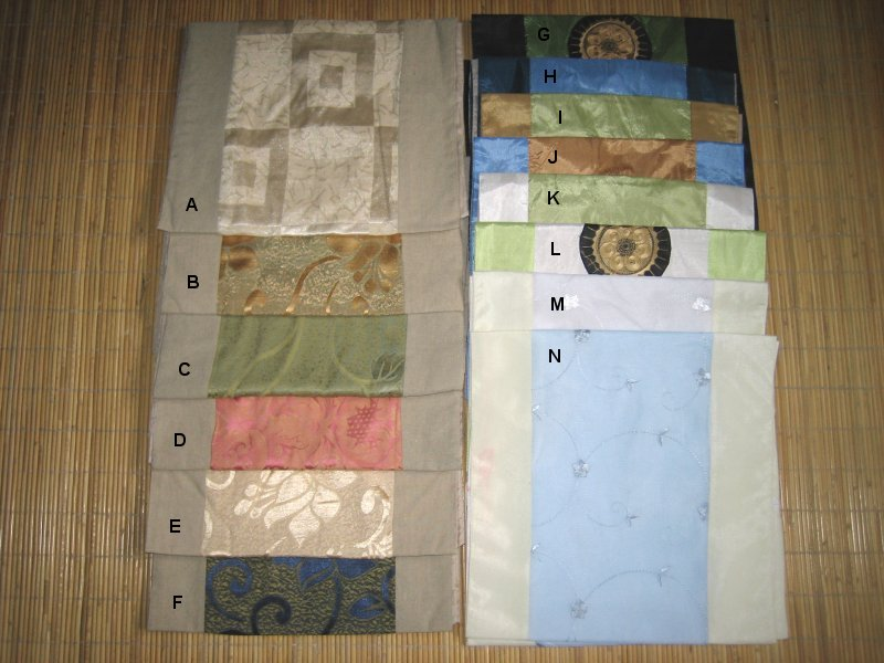 <B>NICE TABLE RUNNER IMPORT DIRECT FROM CHINA FROM RM8</B>