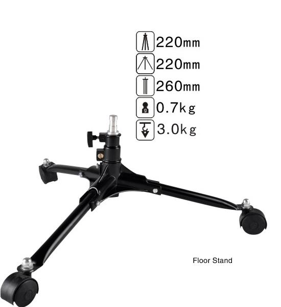 Nicefoto Floor Light Stand (with wheels)