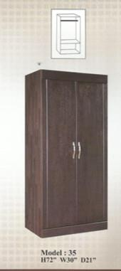 NiceHome Furniture CHEAPEST 2DOOR WARDROBE MODEL - MD35