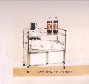 NiceHome furniture Great Value of aluminium rack model - 2k02