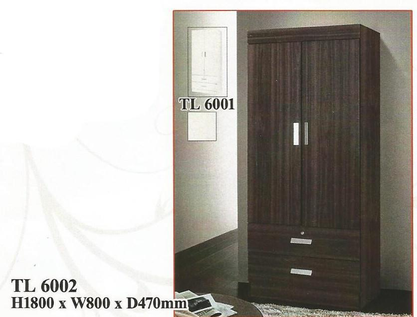 NiceHome Furniture HOT Seller 2DOOR Wardrobe model-TL6002