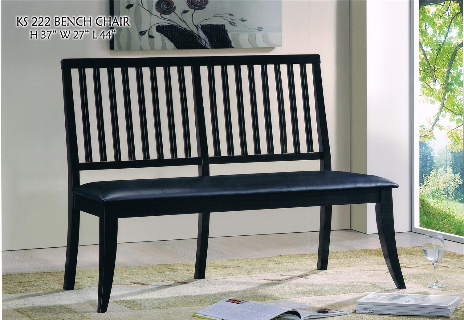 NiceHome Furniture LIMITED SALE With Bench chair model - BC222