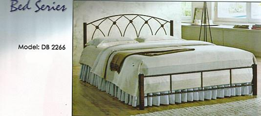 NiceHome furniture OFFER QUEEN SIZE bed katil besi model - DB2266