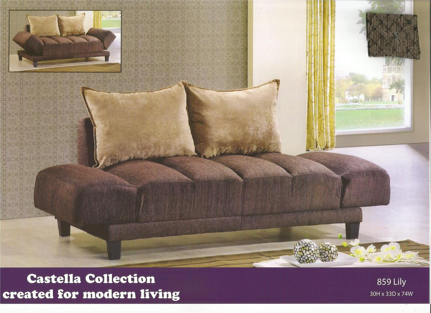 NiceHome furniture Special Offer 2seat sofa bed Model - 859 LILY