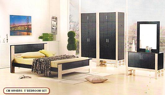 NiceHome furniture special offer 5pcs bedroom set model - 1091