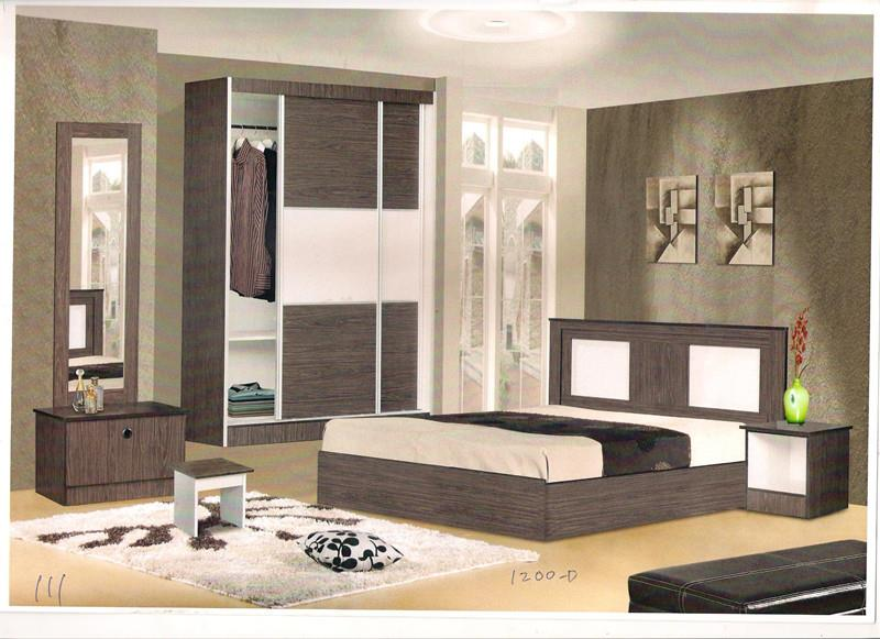 NiceHome furniture special offer 5pcs bedroom set model - 111