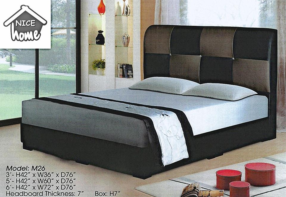 NiceHome furniture special offer divan Queen size 5'bed model-M26