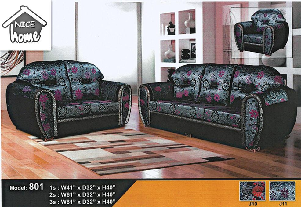 NiceHome Set Preminum 1+2+3 sofa set model - 801