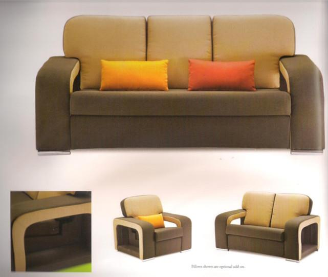 NiceHome Set Preminum 1+2+3 sofa set model - 83102