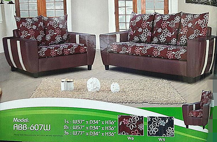 NiceHome Set Promo 1+2+3 sofa set model - 607w