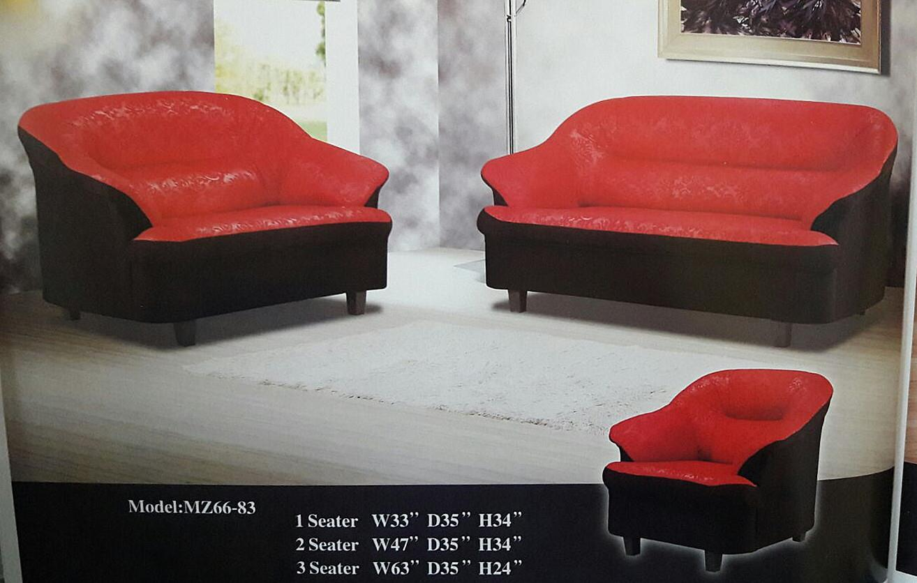 NiceHome Set Promo 1+2+3 sofa set model - 66-83