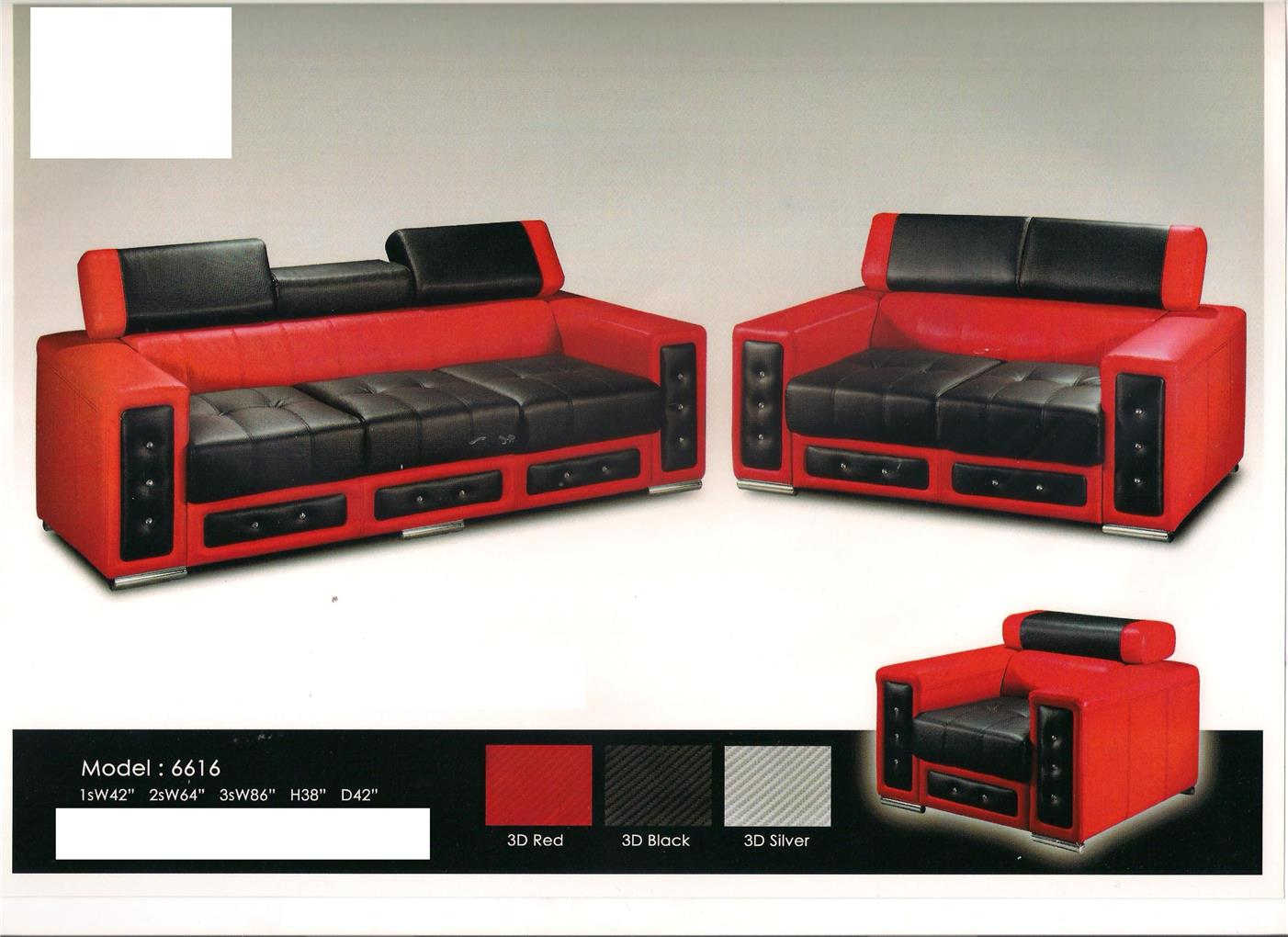 nicehome special offer price sofa1+2+3 model-6616