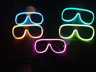 NIGHTCLUB,PARTY LED LIGHT UP GLASSES