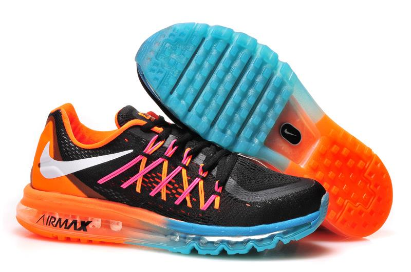 Nike Air Max 2015 Black And Orange