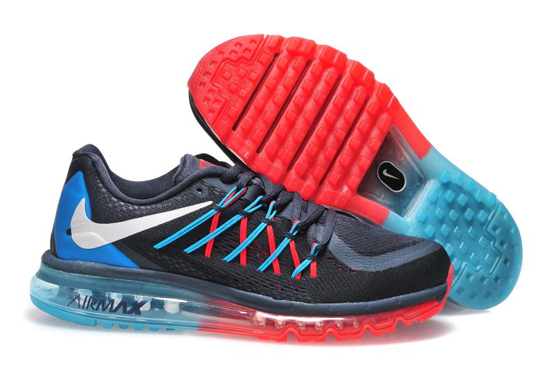 Nike Air Max 2015 Red And Blue