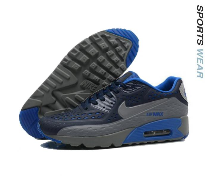 Nike Air Max 90 Ultra BR - Dark Grey/Blue -725222-400