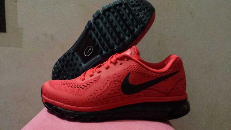 black and red air max 2014