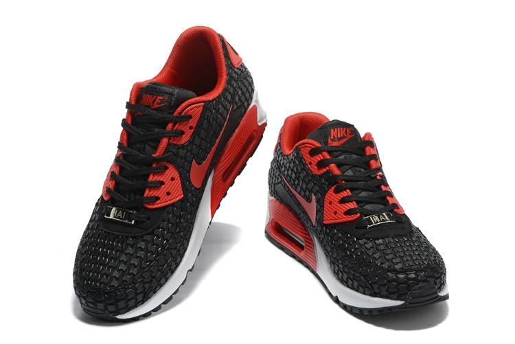 Nike Airmax 90 Check In  Black Red Euro 40-46