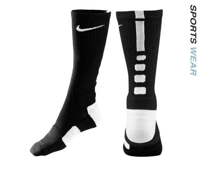 Nike Dri-Fit Elite Basketball Crew Socks - Black -SX3692-007