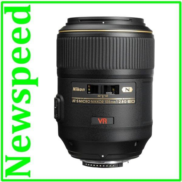 New Nikon 105mm AF-S VR Micro f/2.8G IF-ED Lens