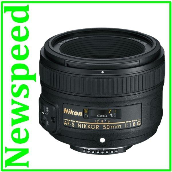 New Nikon 50mm F1.8 AF-S NIKKOR 50mm F1.8G Lens (MSIA)
