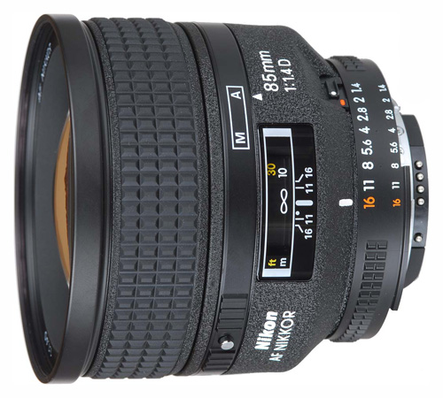 Nikon AF Nikkor 85mm f/1.4D IF Lens - Free Shipping!!!
