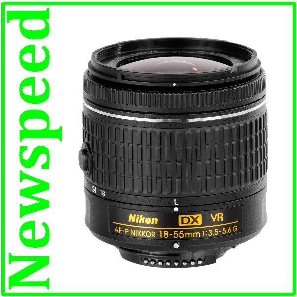 New Nikon AF-P DX 18-55mm f/3.5-5.6G VR Lens