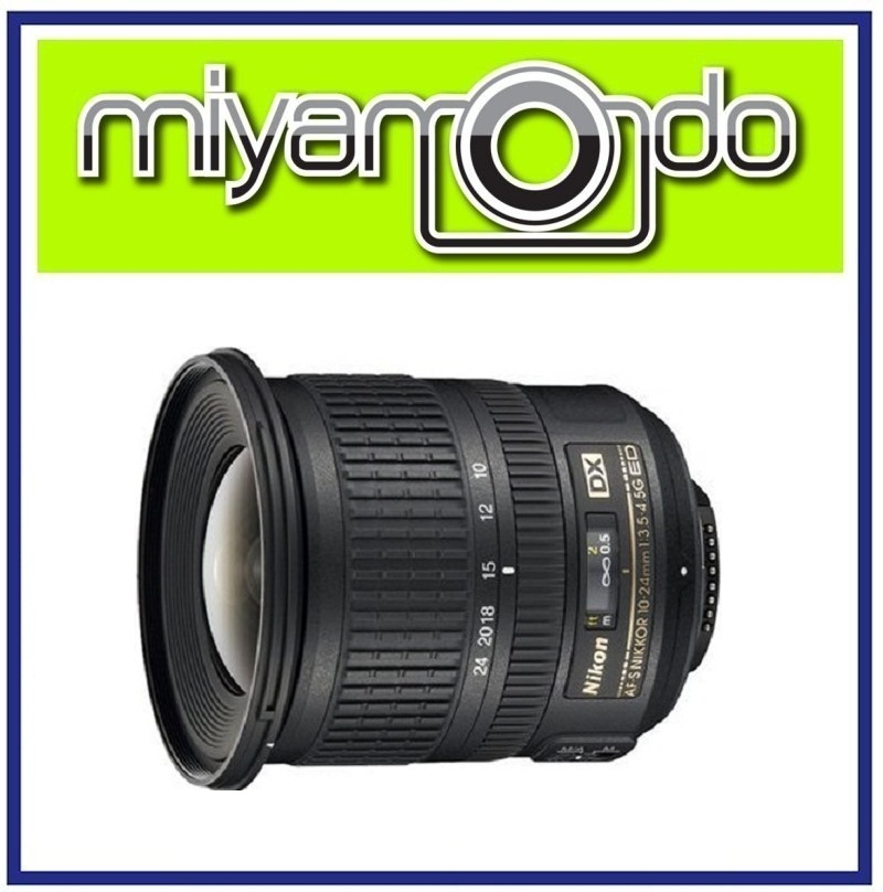 NEW Nikon AF-S DX 10-24mm f/3.5-4.5G ED Lens