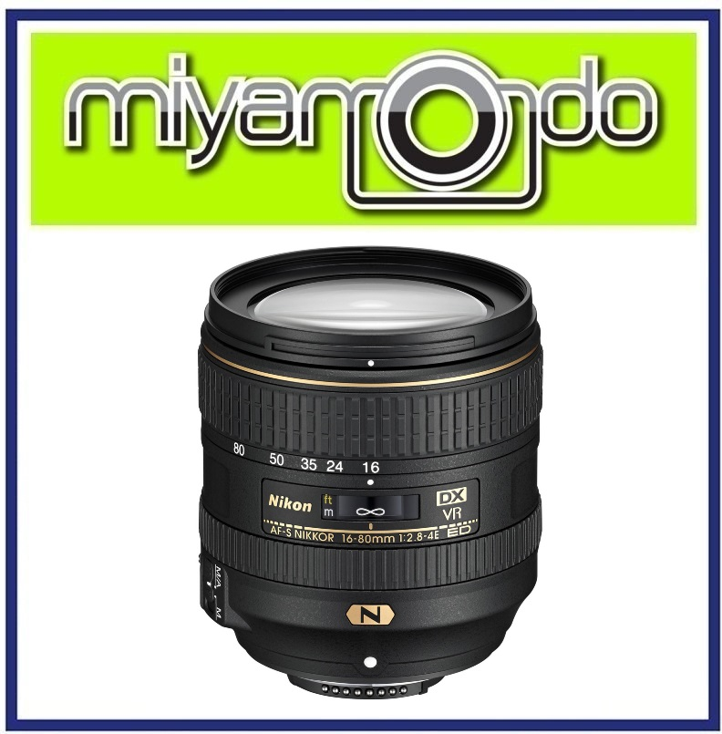 NEW Nikon AF-S DX 16-80mm f/2.8-4E ED VR Lens