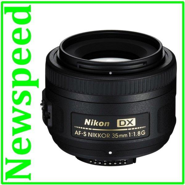 New Nikon AF-S DX NIKKOR 35mm F1.8G (Import)