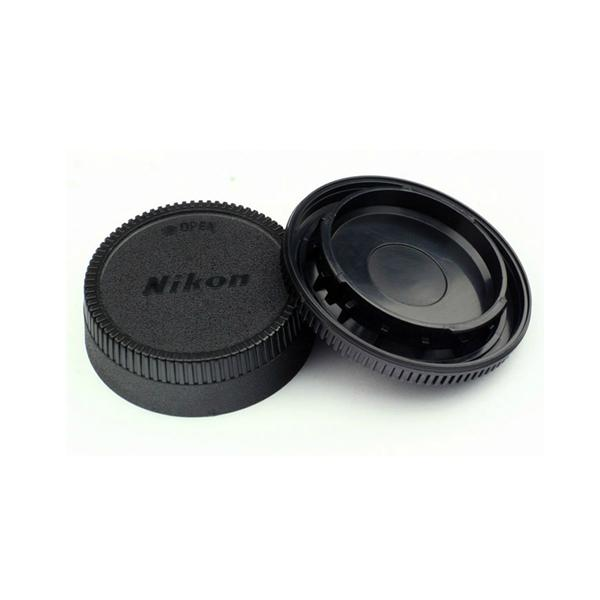Nikon Body and Rear Lens Cap