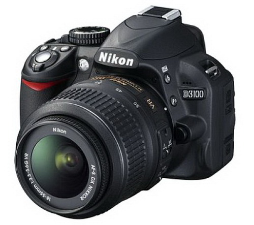 NIKON D3100 Kit 18-55mm VR Lens - Free Shipping!!!