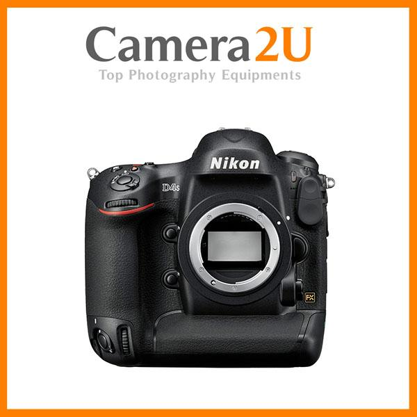 NEW Nikon D4S DSLR Camera (Body Only) (Nikon Malaysia)